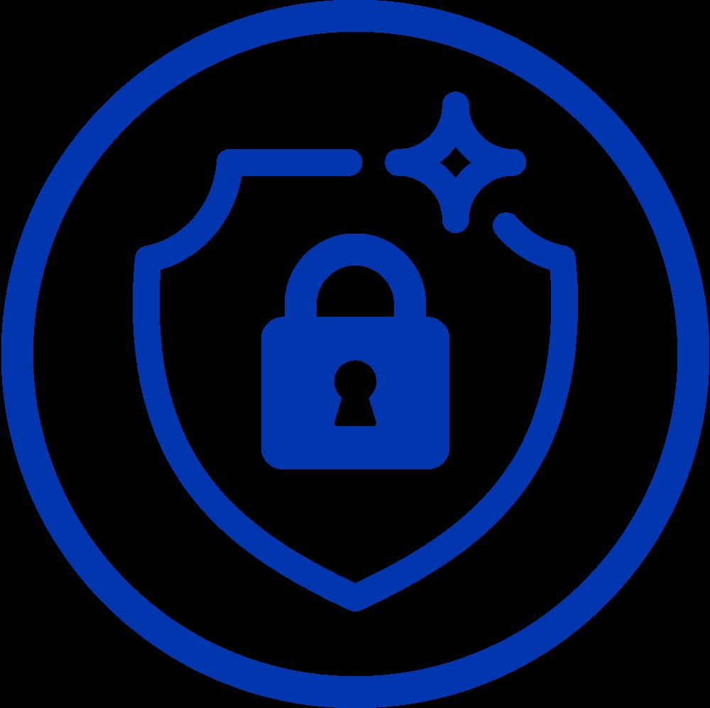 SQWIN Pay Icon Hohe Sicherheit