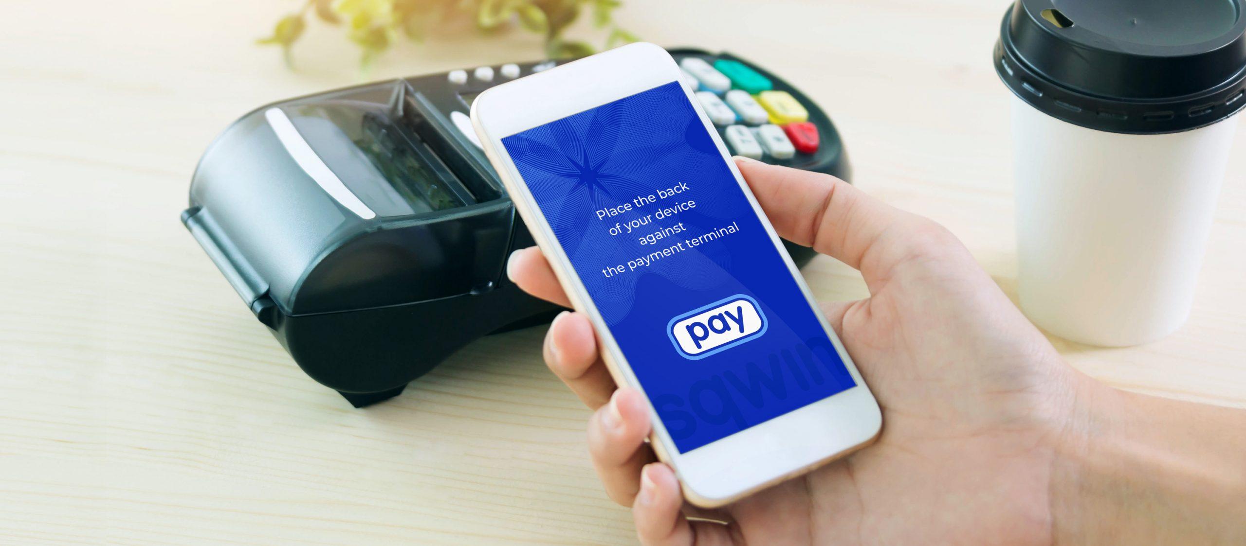 Kontaktloses NFC Bezahlsystem